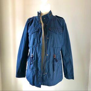 ✨FLASH SALE✨ levi's navy jacket size small